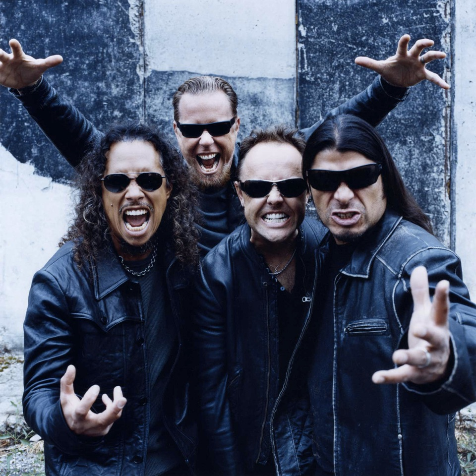 metallica promo band photo